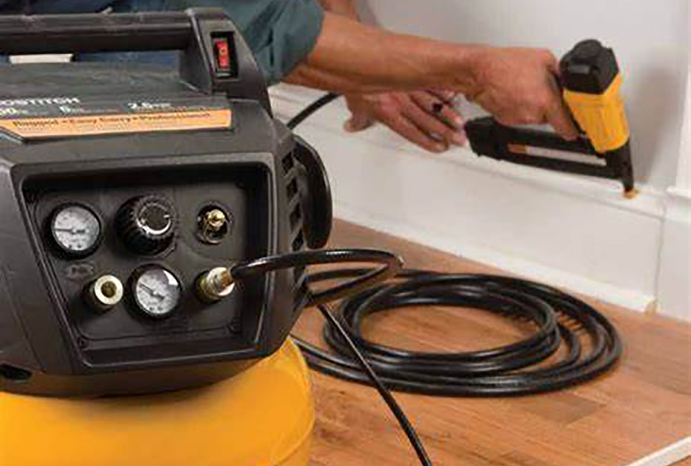 Do you need an air compressor for nail gun