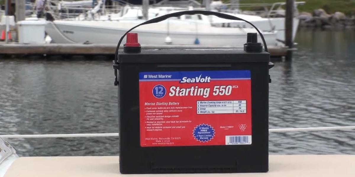 Cranking battery vs deep cycle marine battery