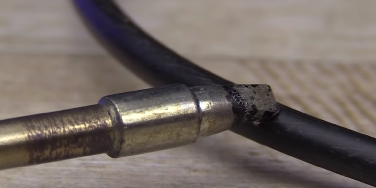 Safety tips when working with gas soldering irons
